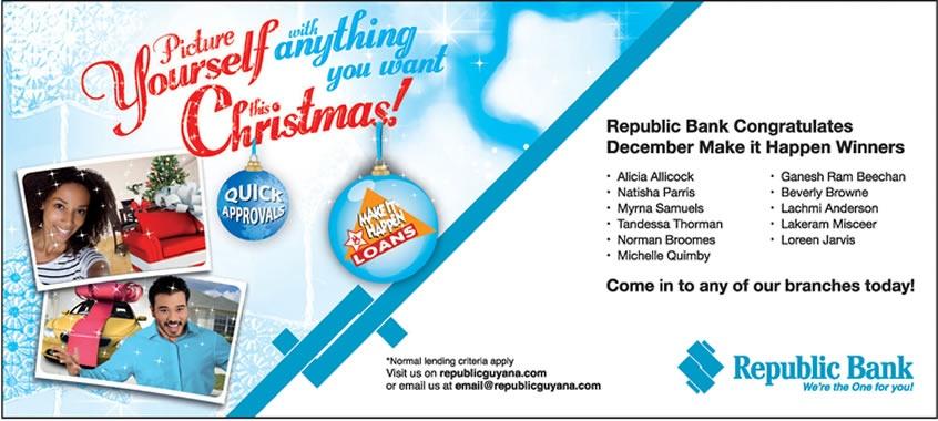 Christmas Bank Loans